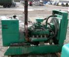 USED- Onan 60 KW Natural Gas Generator Set, Model 60 OEN-15/30100D, 3/60/277/480 Volt, 1800 RPM (can be wired 1/120/240 Volt...