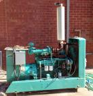 Used- Onan 75 Diesel Generator Set. Model 75.ODYC-15R/27462K, 60Hz, 1800 RPM. Single Phase 50 KW and 62.5 KVA, Three Phase 7...