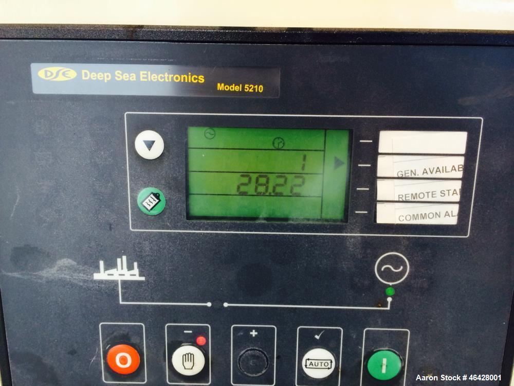 Used- Triton / Cummins 105 kW diesel generator. Cummins 6BT5.9-G6 engine.
