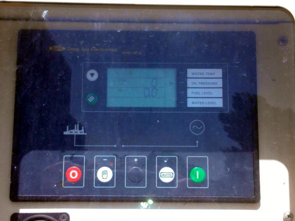 Used- Triton / Perkins 562 kW diesel generator. Perkins series 2800 engine