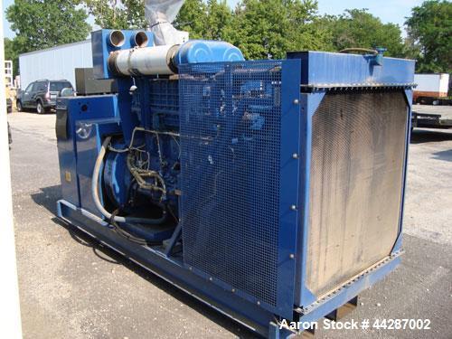 Used- Volvo Penta 300 kW Diesel Generator Set, Model TID121LG