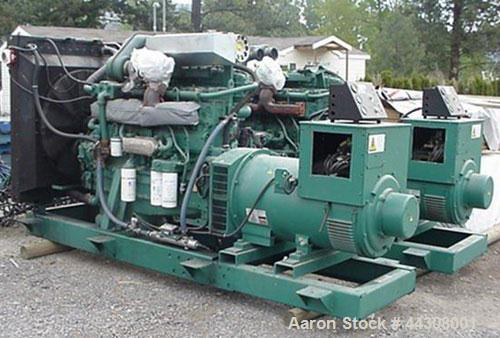 Used-Volvo 300 kw, 600 hp Powered Genset