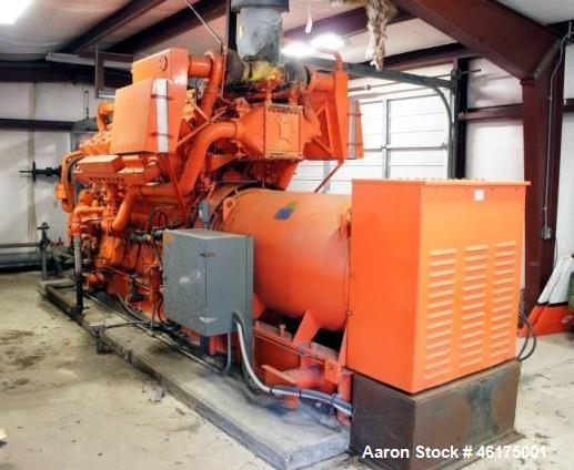 Used-Waukesha / Baylor Generator, 1100 Kw Standby Generator. Baylor Generator Unit. Model G632WNX-321 S/n FJ.65WNX-01-B. Out...