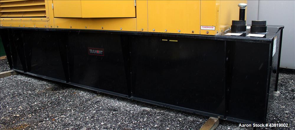 Unused-Tramount enclosure with 880 gal UL sub-base tank designed for CAT C-15