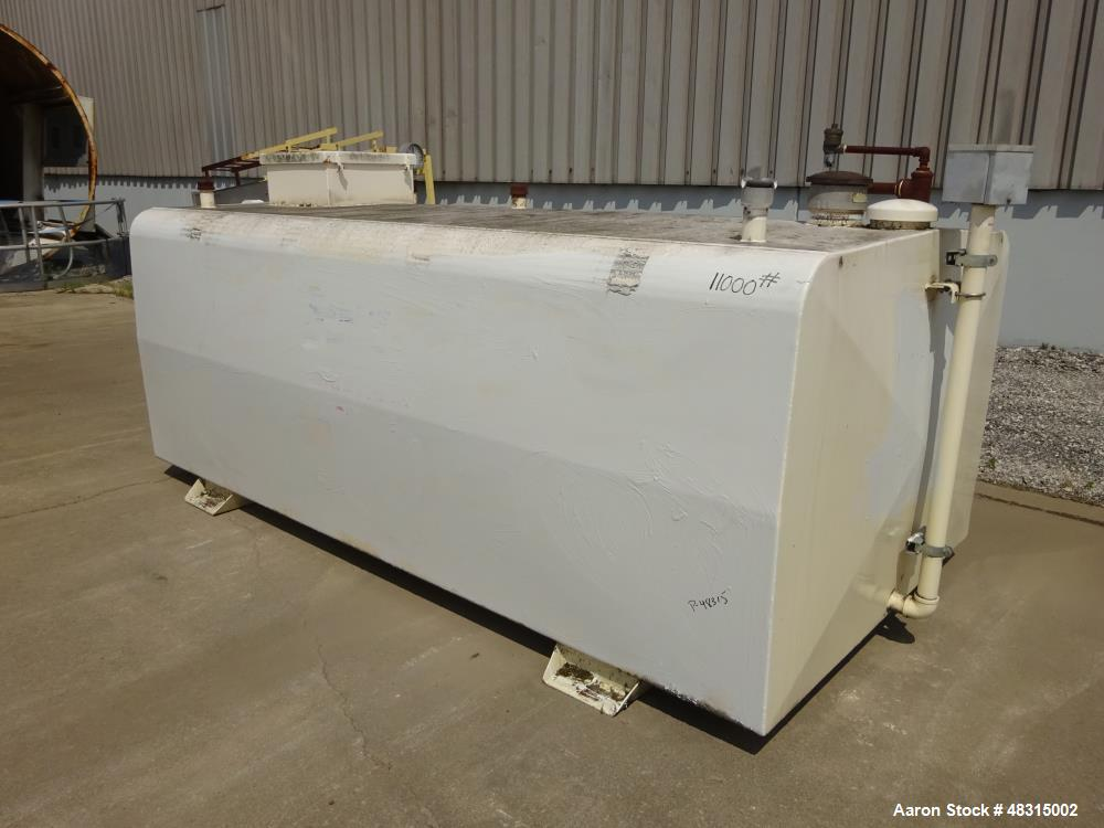 Used- SuperVault MH secondary containment aboveground storage tank, approximate 1,500 gallons.