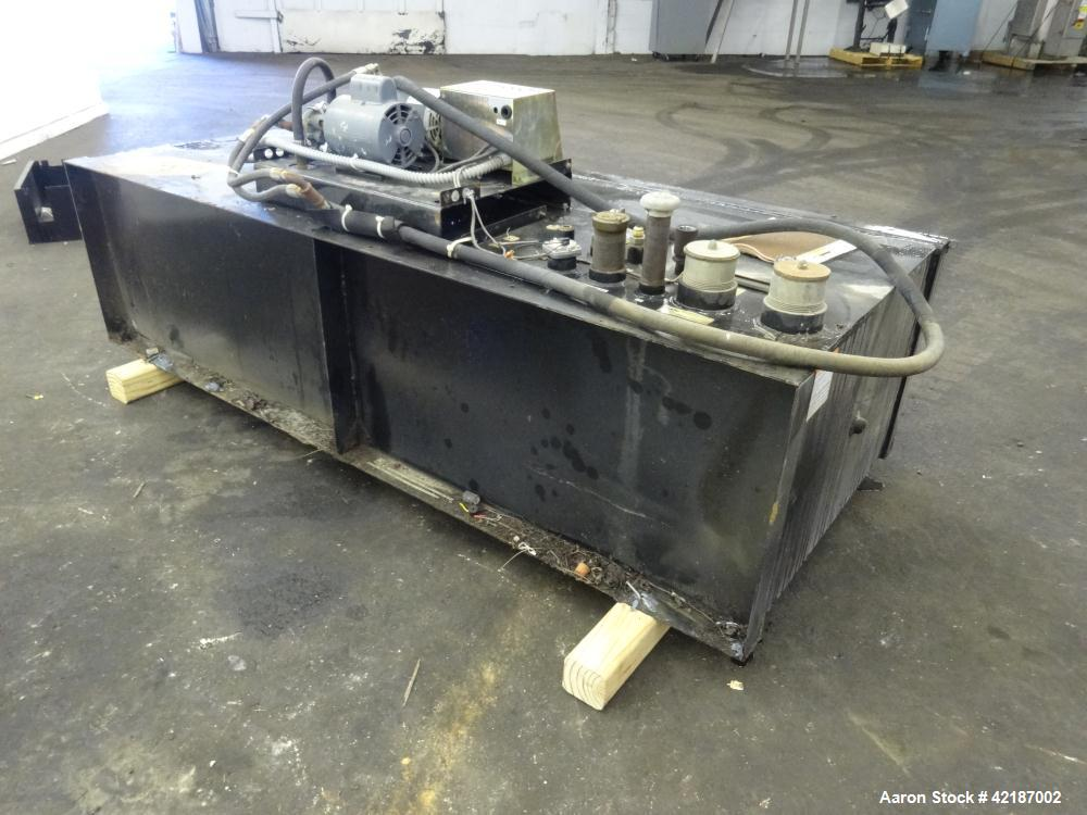 "Used- Tramont 250 gallon diesal fuel tank, model P/NZ600-0514-01. Tank approximately 85"" long x 32"" wide x 24"" deep. Has Tra..."