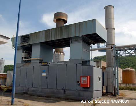 Used- Natural Gas Fired Power Generation Plant, Type Centaur 40S, 50 hz, Natural Gas Fuel. Output power 3500 kW (3.5mw) (470...