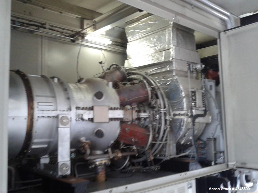 Used- Kawasaki Natural Gas Turbine, Model LCA-14750F120.