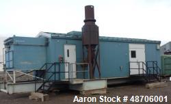 Used- Solar Saturn 800 kW Natural Gas Turbine Package.