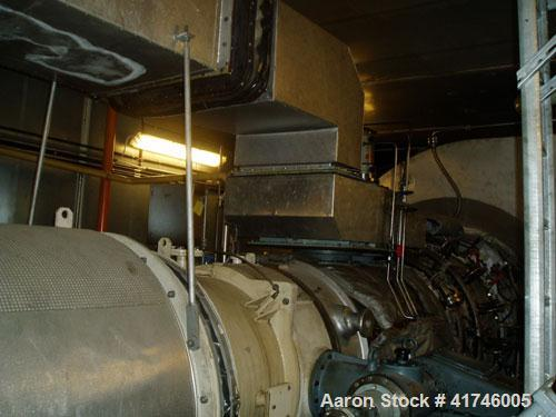 Used-23 MW ABB GT-10 Gas Turbine Power Generator Package, runs on natural gas or diesel oil MK 10, efficiency 29.2%. Electri...