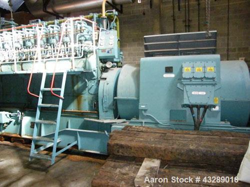 Used- APE Allen 1700 kW (1.7 mW) Diesel Generator,