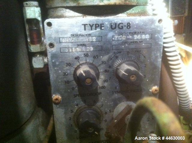 Used-British Polar 850 kW Diesel Generator, Model UG-8