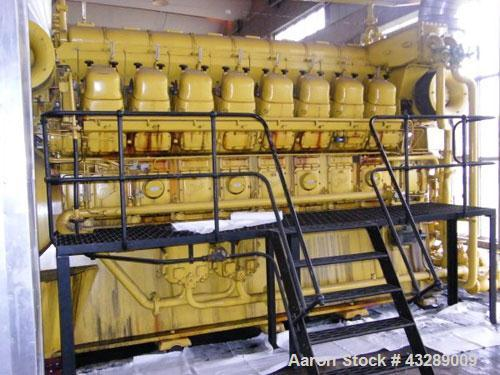 Used-Brown Boven 2400 kW Generator Set.