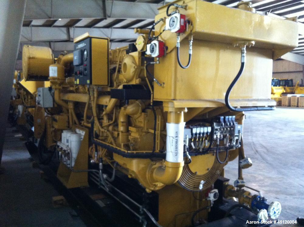 Used-Caterpillar 2.3 MVA Diesel Generator.  Output 1915/1824. 3058 Hp (2281 kW).  KVA 60 hz/690V/1800 rpm.  Engine model 351...