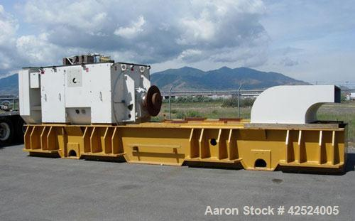 Unused-Caterpillar 3612 Industrial Generator Set, diesel run, 3200 kW, 4000 kva, 5445 hp, 50 hz, 10500V at 1000 rpm. Built i...