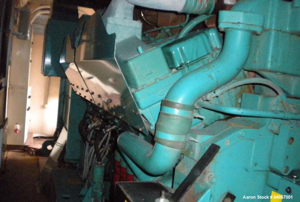 Used-Cummins 1760 DQKD, 1760 kW Diesel Generator.