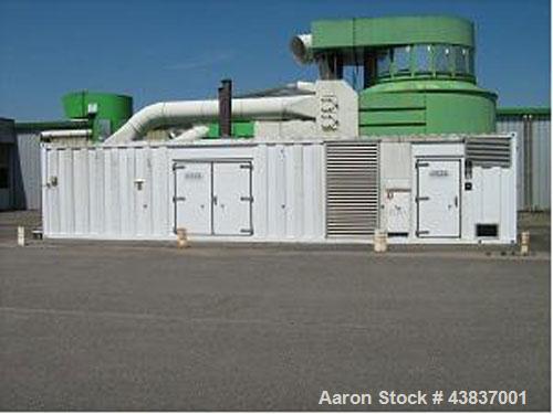 Used-Cummins KTTA50 G2 Diesel Generator, 1600 kva, 440V/20 kv/50 hz.  New 1997 with 5,500 hours run.   Leroy Somer LSA 49 al...