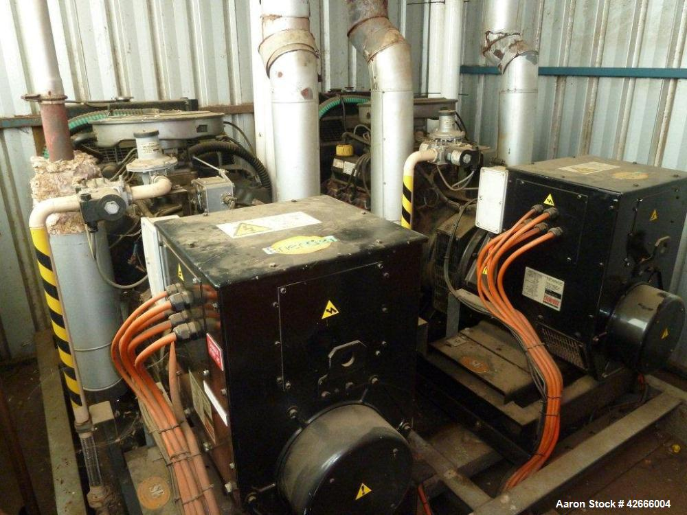 Used-Ford LPG Generator Set with two V8 engines