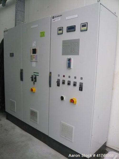 Used- 3 MW Jenbacher Gas Generator, type J6-20, 10,500V, 50 hz, with service book, gas/smoke cleaner and electric control pa...