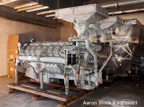 Unused-Leroy Somer Diesel Generator comprised of: (1) Leroy Somer diesel power generator, model LSA 53 SL85-4P, capacity 144...
