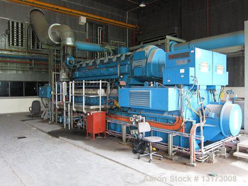 Used-The Louis Allis Company/Fairbanks Morse Dual Fuel Generator, Model 98.000.81/3.
