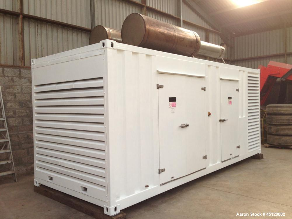 Used-Perkins MP800 640 kW Diesel Generator, Model MP800.