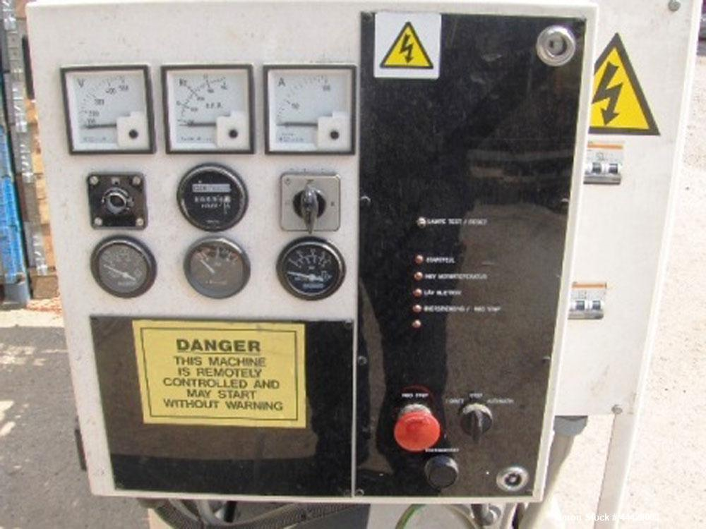 Used-Perkins P40 Emergency Generator.  Diesel, (4) cylinders, 1500 rpm, 380V/220V, 3 phase, 50 hz.