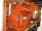 Used-Waukesha Gas Generator, Model L 36 GLD.  500 kW, Stamford generator 670 kva, RH 45,000 after revision 10,000 hours, 150...