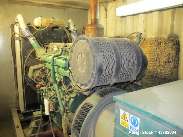 Used-Volvo Penta 400 kW Diesal Generator, Model VP460E.
