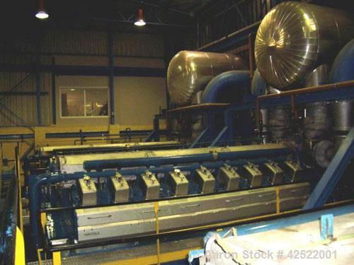 Used-16.5 MW Wartsila 18V34SG Gas Power Plant, 6300V, 750 rpm, 50 hz, consisting of (3) 5500 kW natural gas ABB generator se...