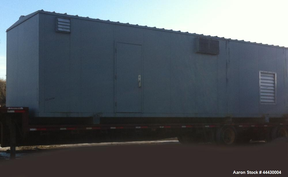 """Used- Generator enclosure. 421"""" long x 135"""" wide x 135"""" high"""