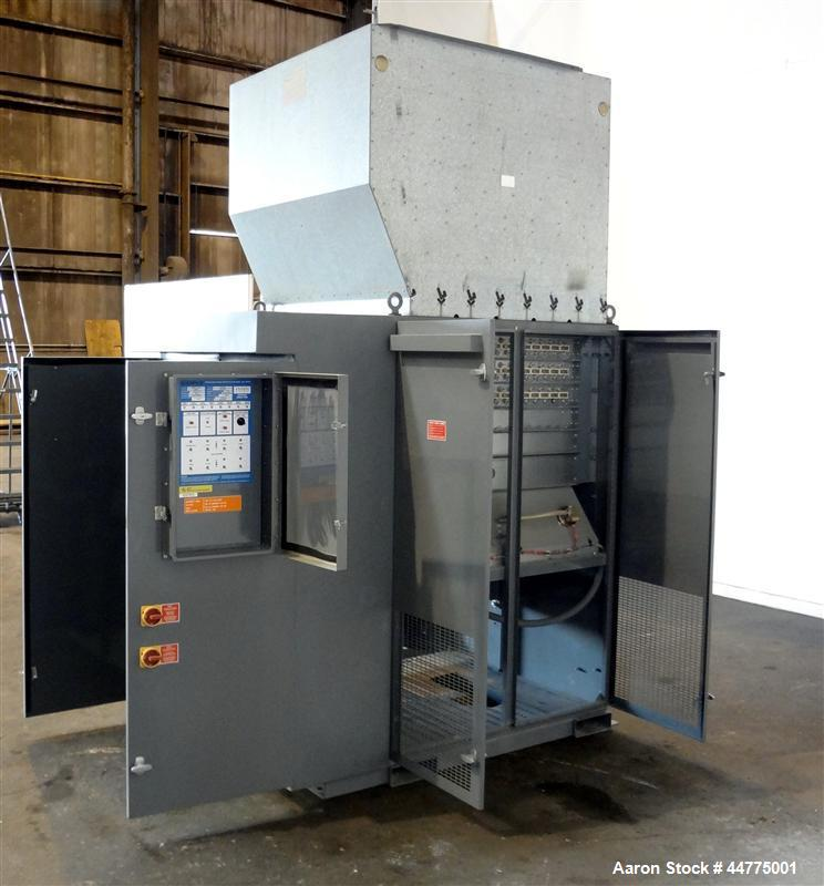 Used- Simplex Mars 800 kW Forced Air-Cooled Resistive Load Bank, LBS Series, Model Mars 800.  Capacity 800 kw at 1.0 PF, vol...
