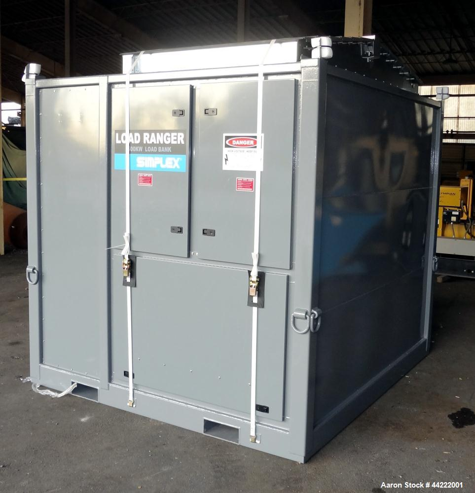 Used-Simplex 2500 kW load bank, Load Ranger 2500