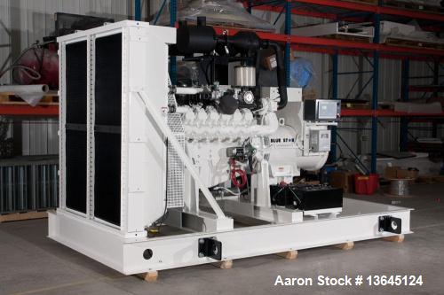 Blue Star Power Systems 425 kW Natural Gas Generator Set, Model D219TICHO.
