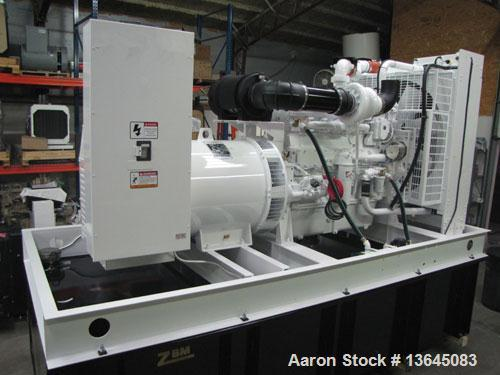 Blue Star Power Systems 500 kW Diesel Generator Set, Volvo TAD1641GE engine