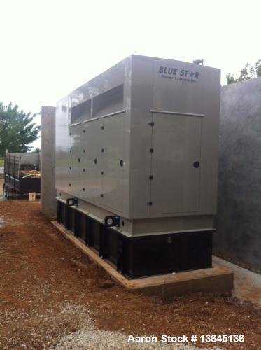 New- Blue Star Power Systems 600 kW diesel generator set. MTU model 12V1600G80S