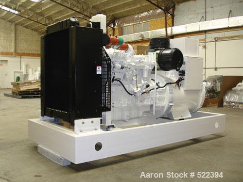 Unused-NEW Cummins powered 250 kW standby diesel generator. Cummins QSL9-G3 EPA tier 3 certified engine rated 399 hp @ 1800 ...