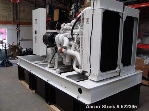 Unused-NEW- Cummins Powered 300 kW standby / 270kW prime rated diesel generator set. Cummins QSL9-G7 NR3 EPA tier 3 certifie...