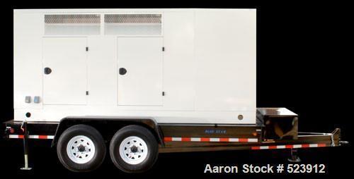 Unused-NEW: Cummins powered 200 kW standby power unit. Diesel engine trailer mounted. Cummins QSB7-G5 200 kW standby power r...