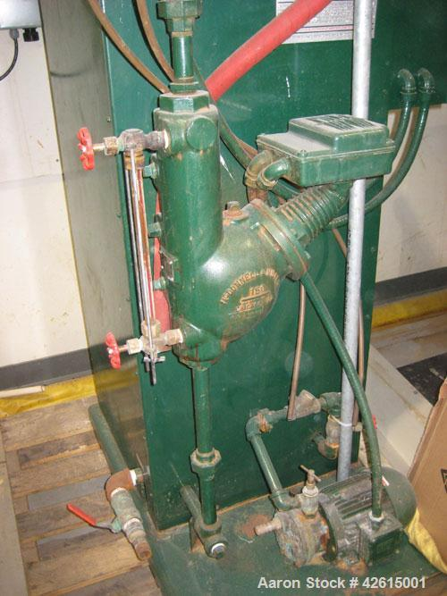 Used-Electric Steam Corp Steam Generator, model 100CC-4. 3/4 life left on replacement filaments, includes 2' x 2' x 2' steam...