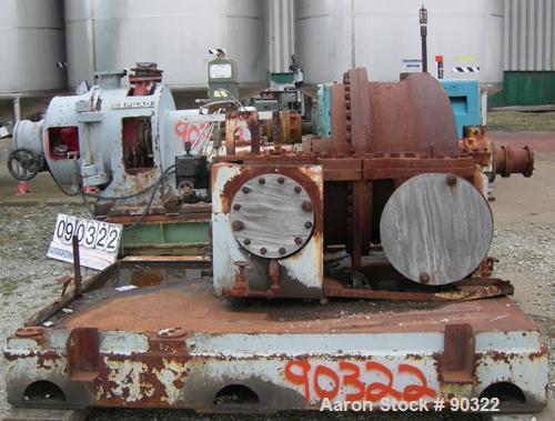 USED: Elliot turbine, model EPG 2. 1500 hp, governor, EXH press 40 psig, inlet press 200 psig, inlet temp 480 deg F, gov typ...