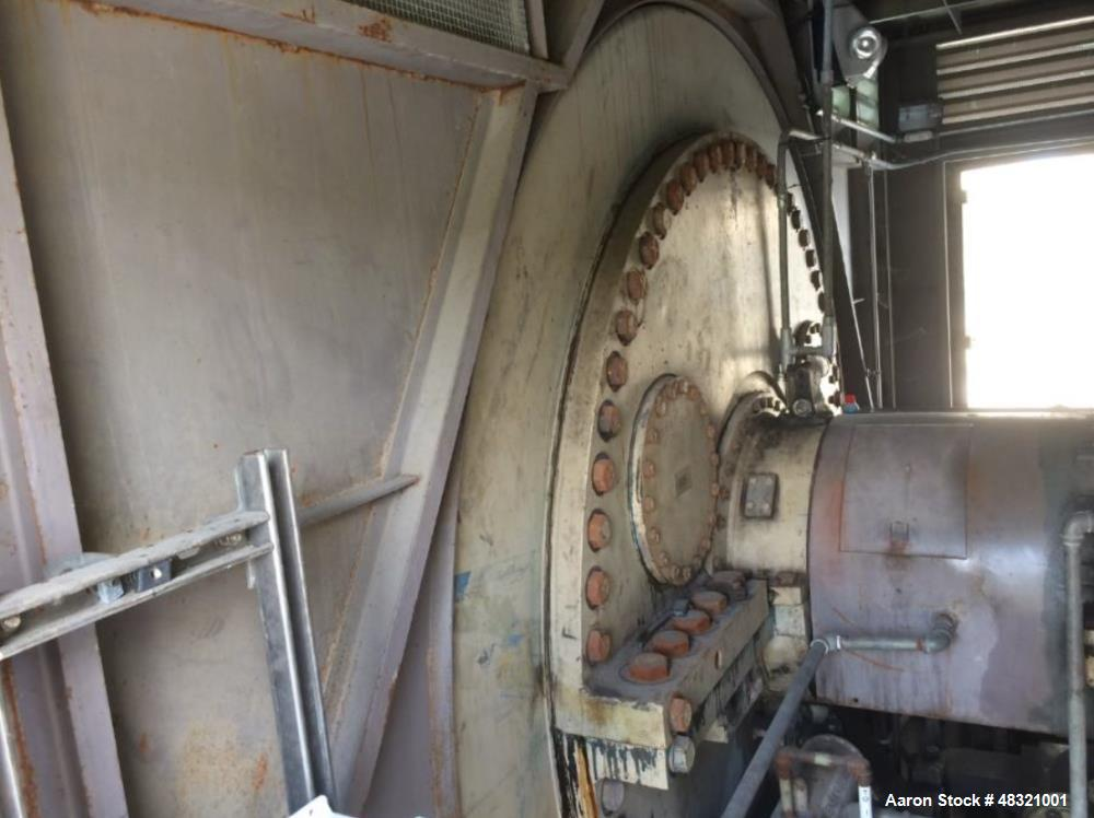 Used- General Electric Steam Turbine-Generator. 66,086 kW rated straight condensing steam turbine and an 80,300 kVA rated ge...