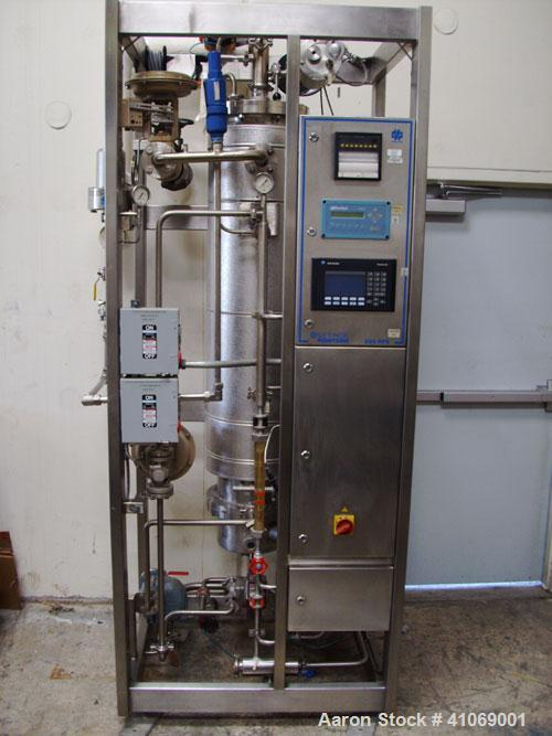 Used-Getinge 200 PFS Steam Generator designed to produce pharmaceutical grade, pyrogen free, pure steam for direct product c...