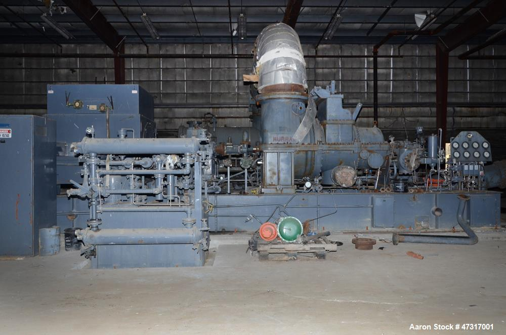 Used- Dresser-Rand/Murray Steam Turbine, Model RD6M. 3507 kW