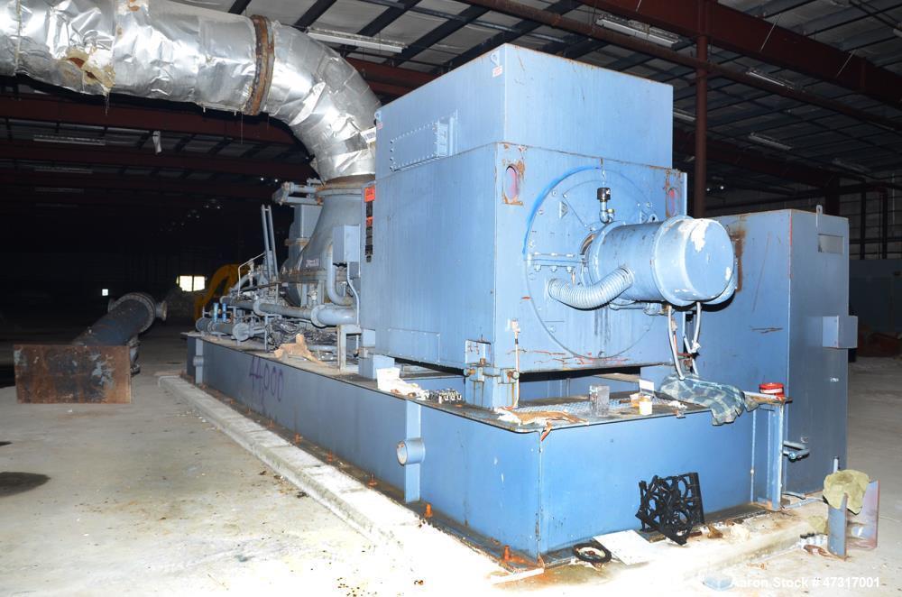Used- Dresser-Rand/Murray Steam Turbine, Model RD6M. 3507 kW