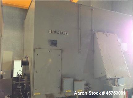 Used- Siemens Steam Turbine, 7.3MW, Model NK 32/36-3Da.