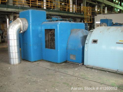 Used-Westinghouse Steam Turbine Generator Set. Generator Westinghouse AC, approximately  6,000 kW /  7500 KVA, 6900 volts, 6...