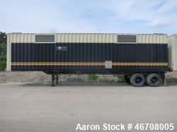 Used- Kohler 40' rental grade generator sound attenuated container, tandem axle.