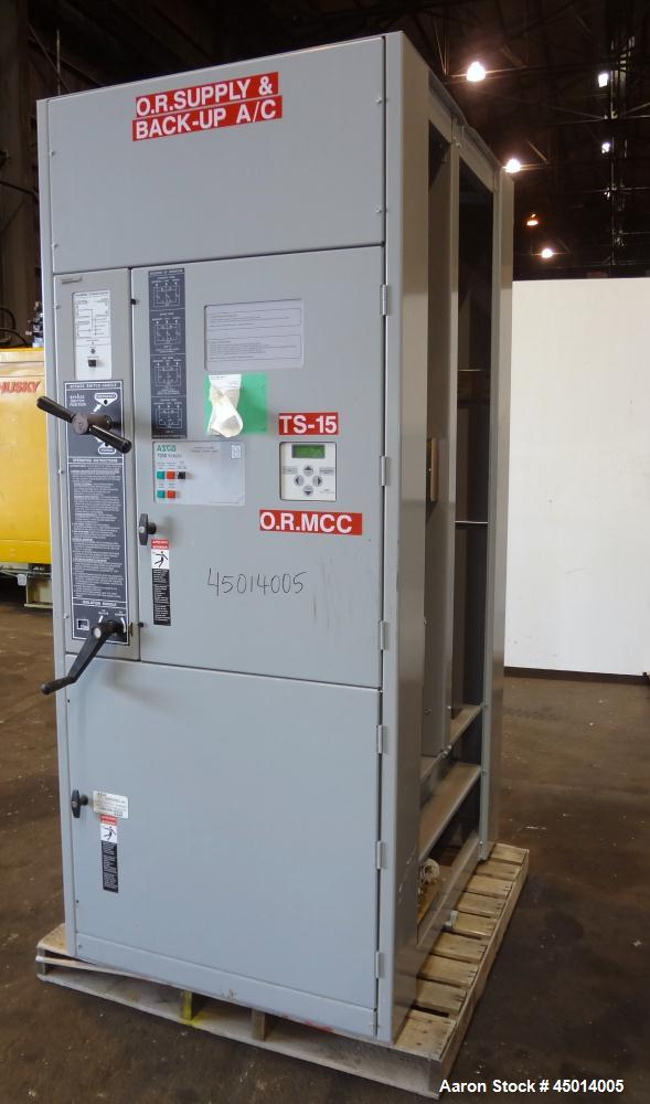 Used- Asco 7000 Series Automatic Transfer and Bypass Isolation Switch