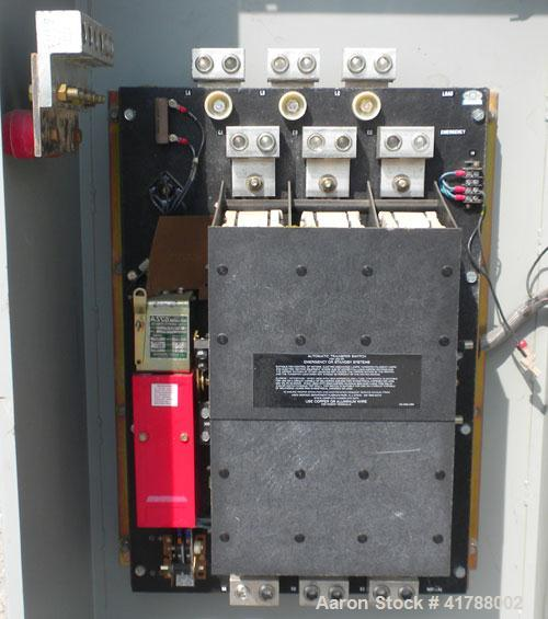 Used- Asco 600 Amp Automatic Transfer Switch, Model C940360099XC, Bulletin 940. Rated 3/60/480/ 277 volt.